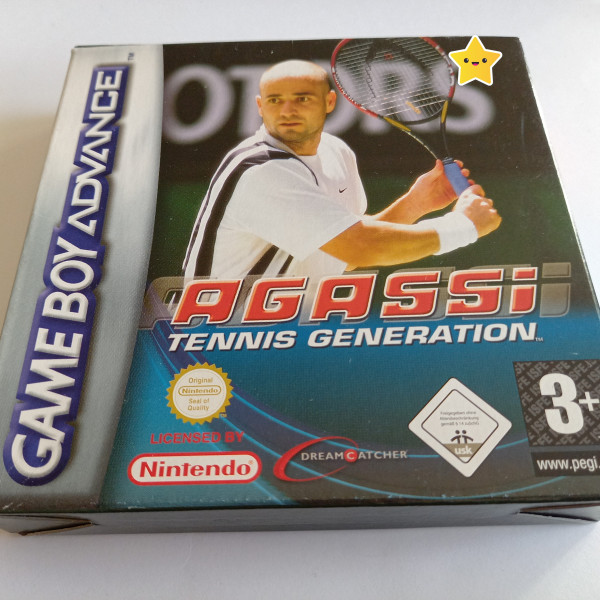 Agassi - Tennis Generation - GBA - OVP
