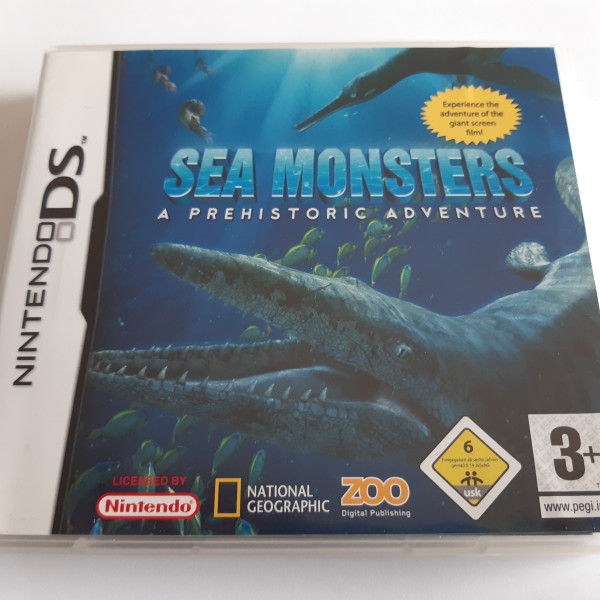 Sea Monsters - A Prehistoric Adventure - DS