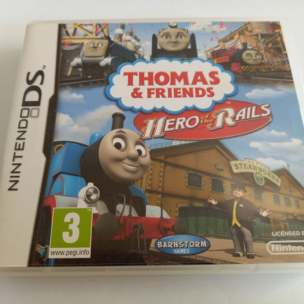 Thomas & Friends - Hero of the Rails - DS