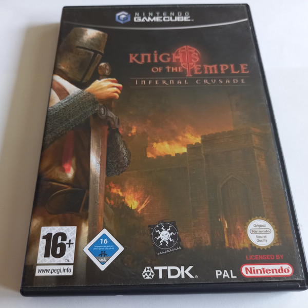 Knights of the Temple - Infernal Crusade - GameCube