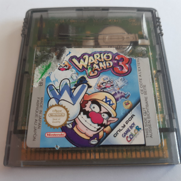 Wario Land 3 - GBC