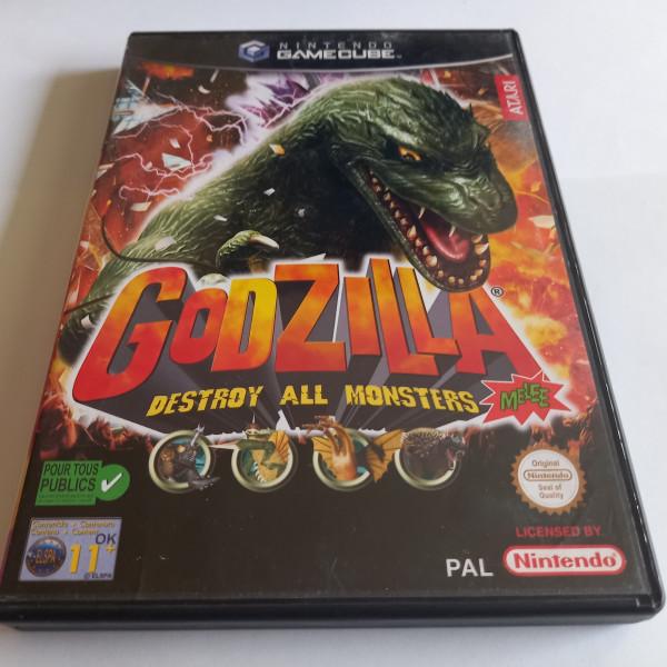 Godzila - Destroy all Monsters - GameCube