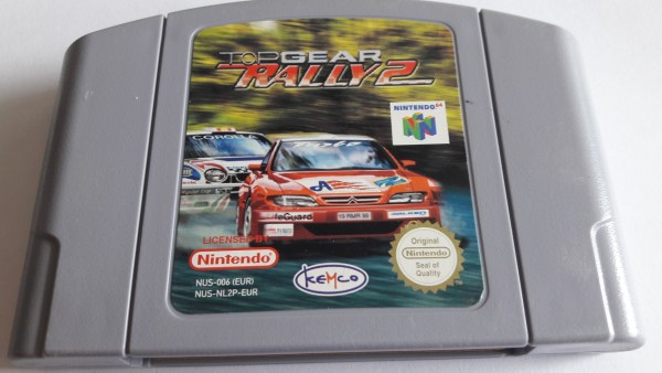 Top Gear Rally 2 - N64