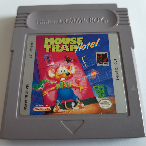 Mouse Trap Hotel - Game Boy