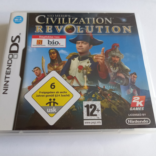 Sid Meier`s Civilization - Revolution - DS