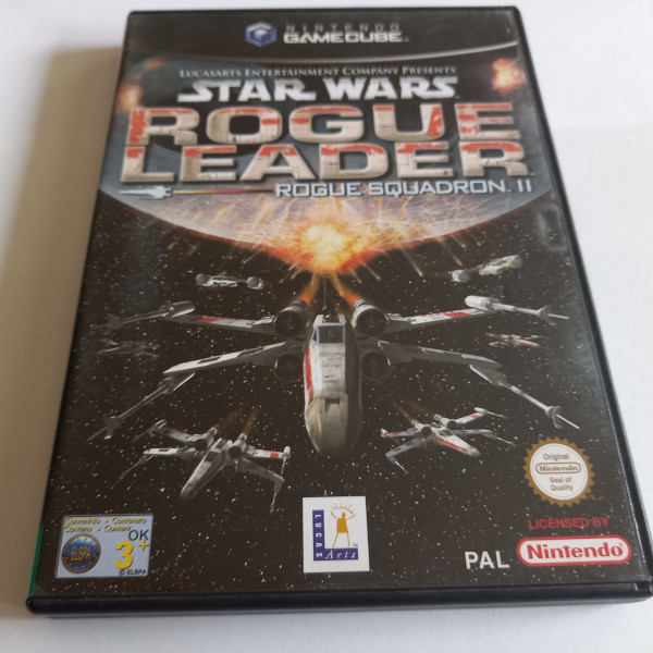 Star Wars Rogue Leader - Rogue Squadron II - GameCube