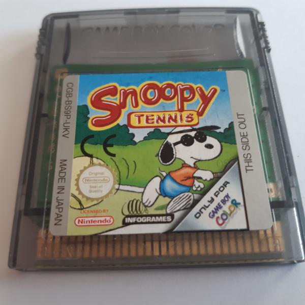 Snoopy Tennis - GBC