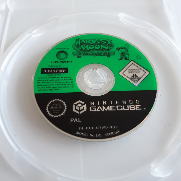 Harvest Moon - A Wonderful Life - GameCube