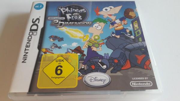 Phineas und Ferb - Quer durch die 2. Dimension - DS