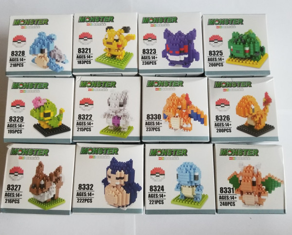 Pokemon - Monster Mini - Lego