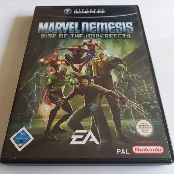 Marvel Nemesis - Rise of the Imperfects - GameCube