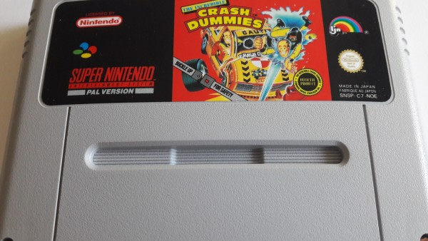 The Incredible Crash Dummies - SNES