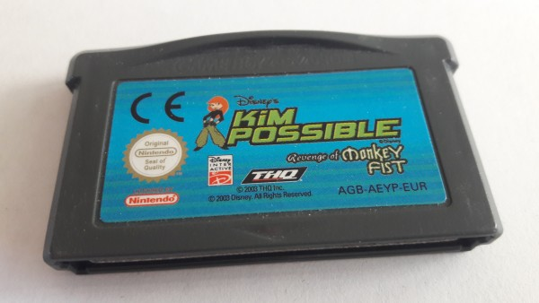 Kim Possible - Revenge of the Monkey Fist - GBA
