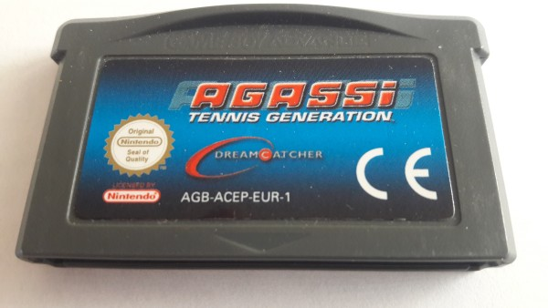 Agassi - Tennis Generation - GBA