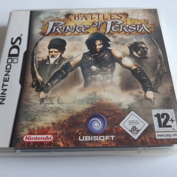 Prince of Persia - Battles - DS