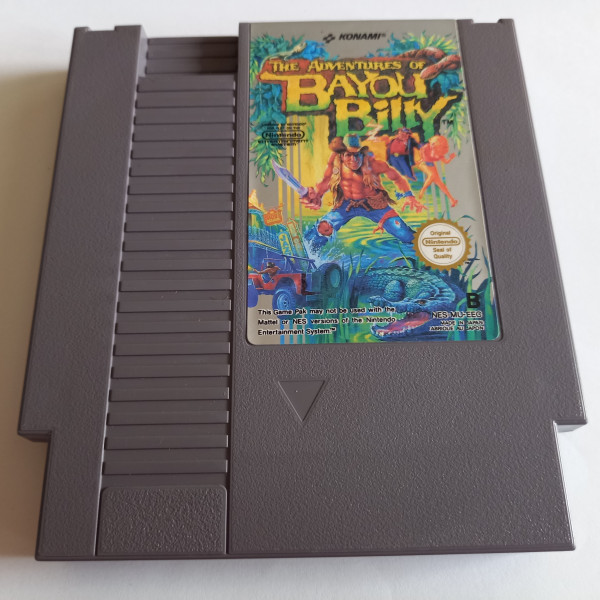 The Adventures of Bayou Billy - NES