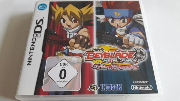 Beyblade Metal Fusion - Cyber Pegasus - DS