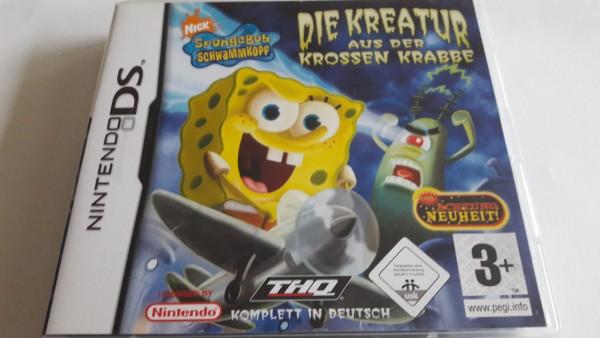 Spongebob Schwammkopf - Die Kreatur aus der krossen Krabbe - DS