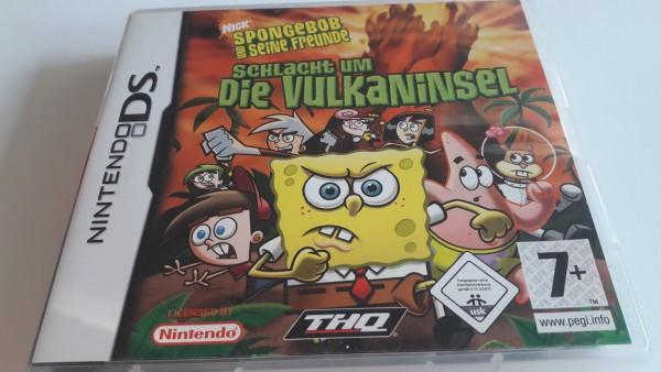Spongebob Schwammkopf - Schlacht um die Vulkaninsel - DS