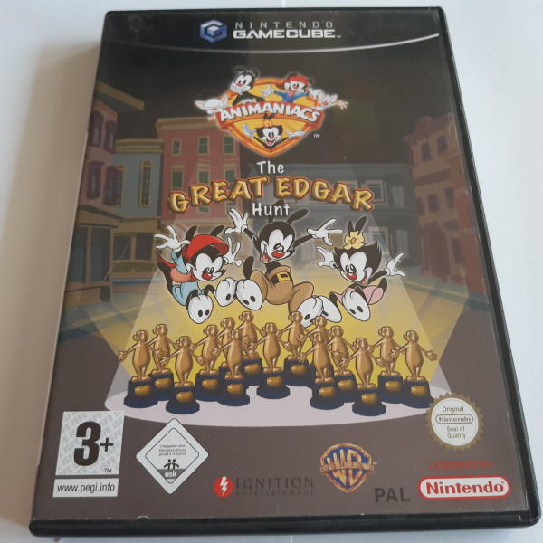 Animaniacs - The Great Edgar Hunt - GameCube