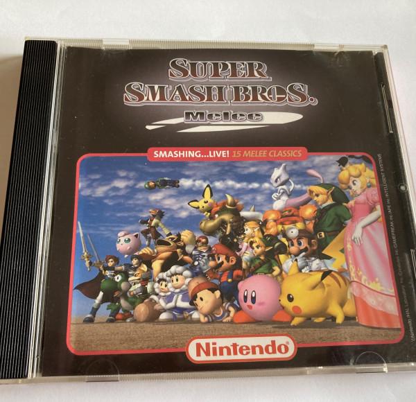Super Smash Bros. Melee - Soundtrack- CD