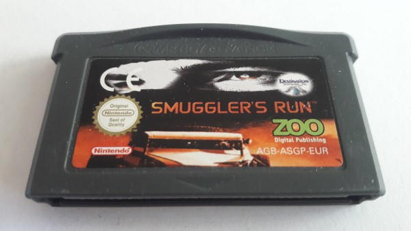 Smuggler`s Run - GBA