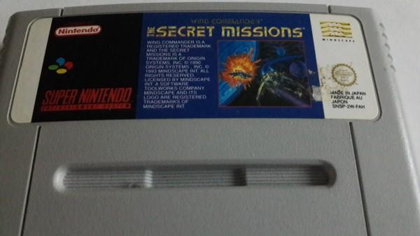 Wing Commander - Secret Mission - SNES