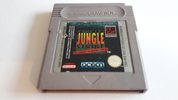 Jungle Strike - Game Boy