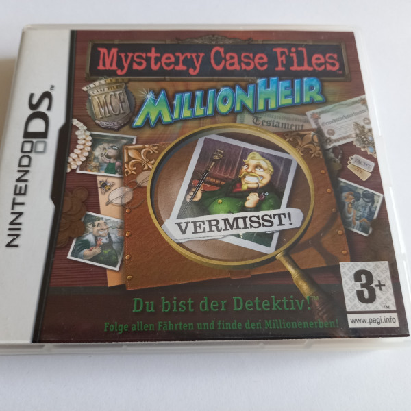 Mystery Case Files - MillionHeir - DS