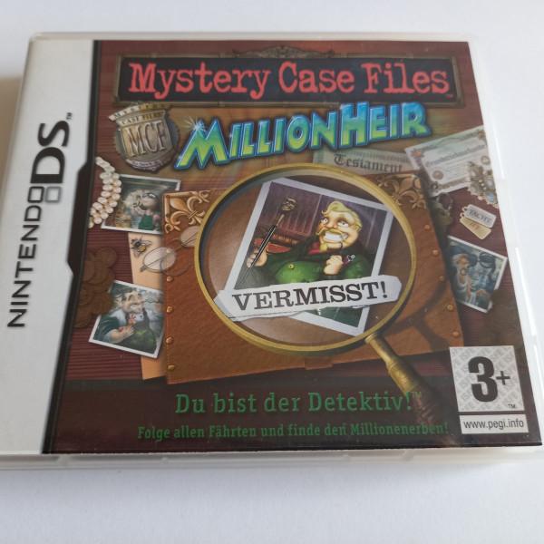 Mystery Case Files - MillionHeir - DS