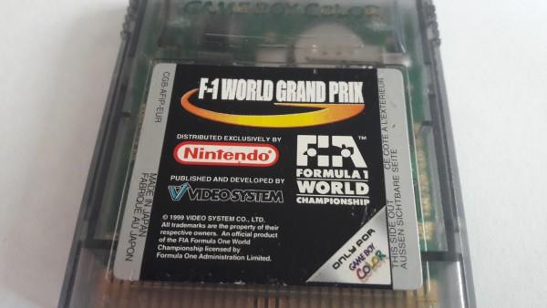 F-1 World Grand Prix - GBC