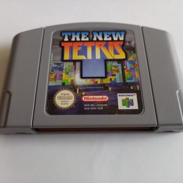 The New Tetris - N64