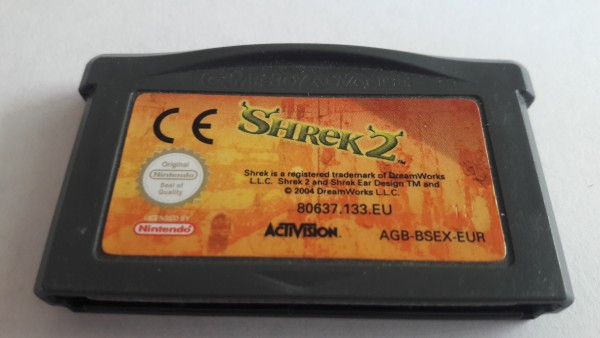 Shrek 2 - GBA