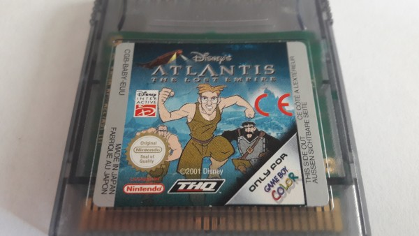 Atlantis - The Lost Empire - GBc