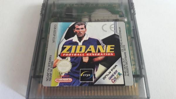 Zidane - Football Generation - GBC