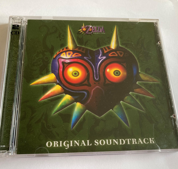 Zelda Majoras Mask - Original Soundtrack - CD