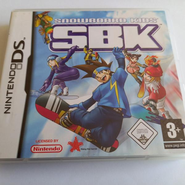 SBK - Snowboard Kids - DS