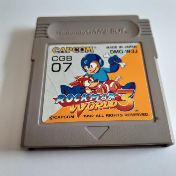 Mega Man III - Game Boy - JP