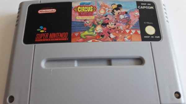The Great Circus Mistery - SNES