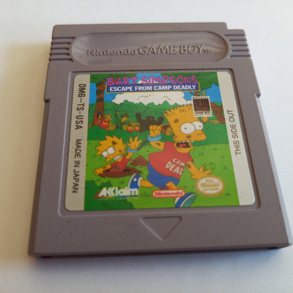 Bart Simpson - Escape from Camp Deadly - Game Boy
