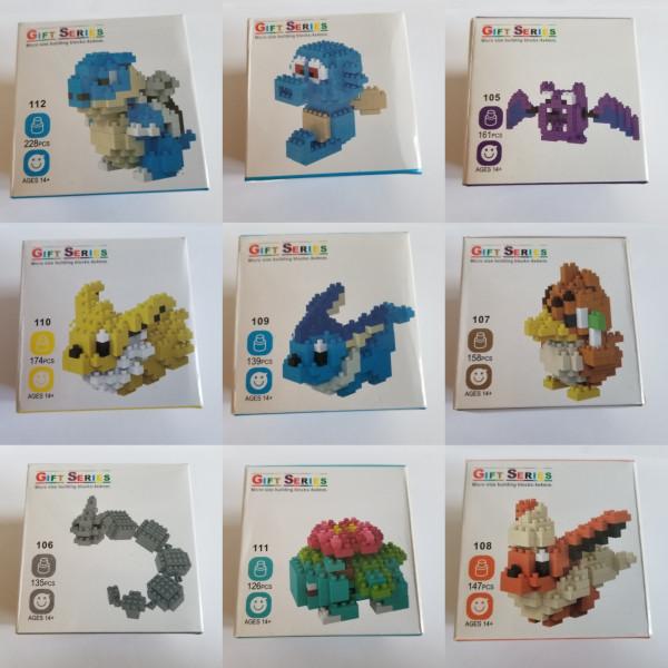 Pokemon - Gift Series 1 - Lego