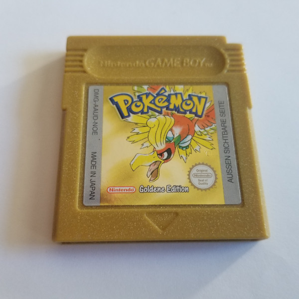 Pokemon Gold - GBC