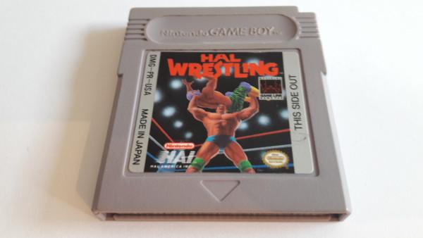 Hal Wrestling - game Boy