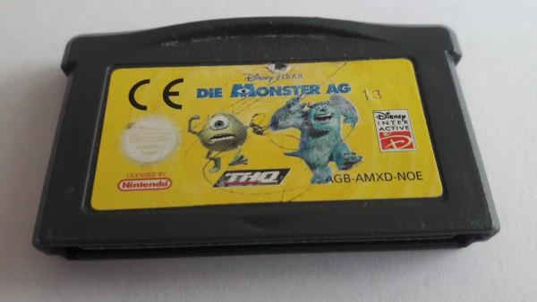 Die Monster AG - GBA