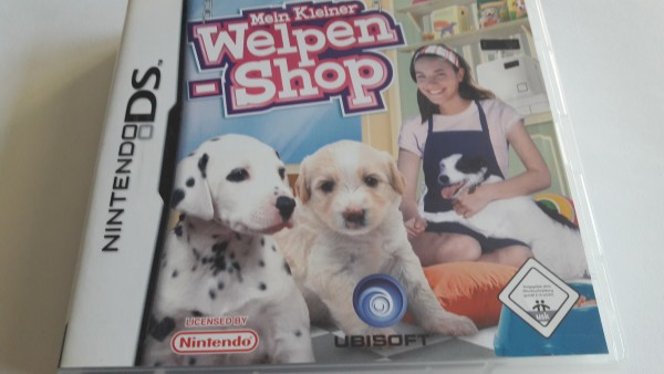 Mein kleiner Welpen-Shop - DS