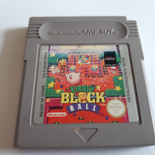 Kirby`s Block Ball - Game Boy