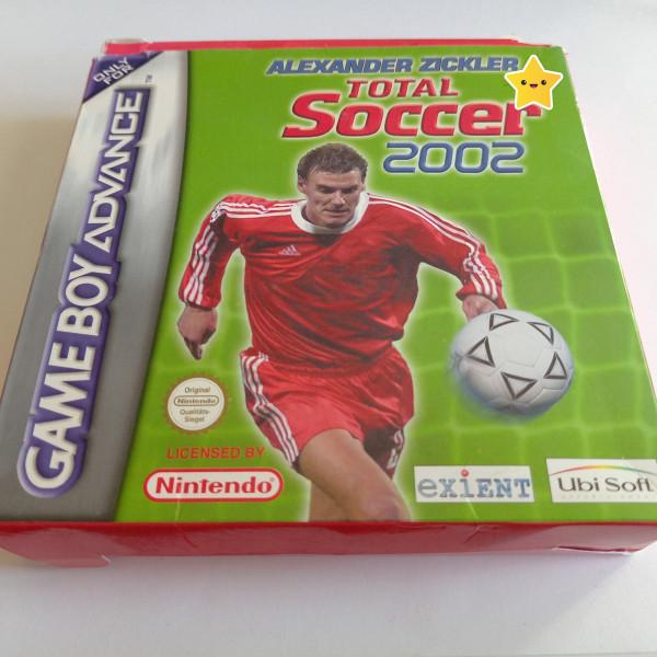 Total Soccer 2002 - GBA - OVP