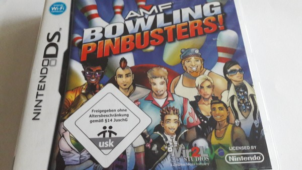 AMF Bowling - Pinbusters - DS