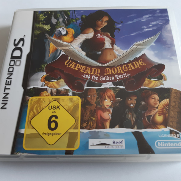 Captain Morgane and the Golden Turtle - DS