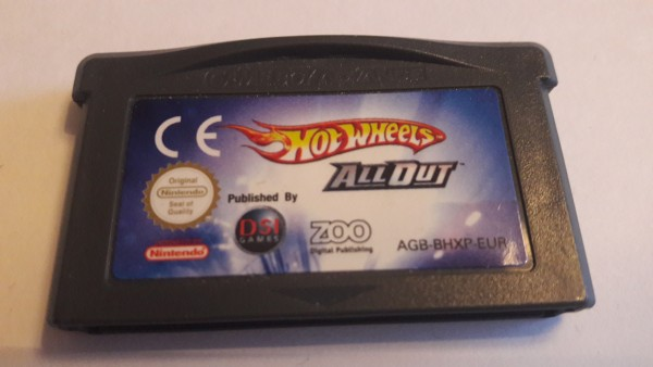 Hot Wheels - All Out - GBA